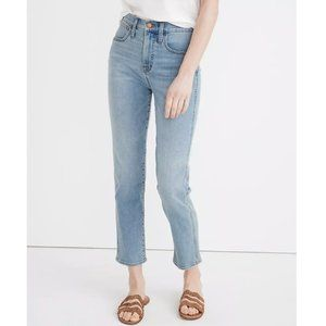 Madewell Supersoft Stovepipe Jeans in Plattwood